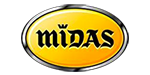 Logo vendeur de pneus Midas à Orange