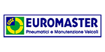 Logo rivenditore di pneumatici Euromaster