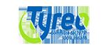 Logo rivenditore di pneumatici Tyreo