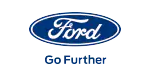 Ford tyre dealer logo in Plymouth