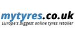 Mytyres tyre dealer logo in Glasgow