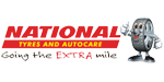 National Tyres and Autocare tyre dealer logo
